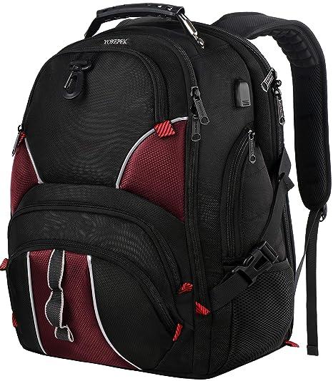 Amazon.com: Mochila de ordenador portátil de 17 pulgadas ...