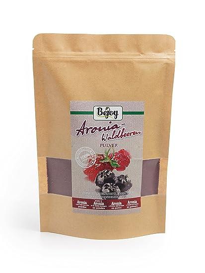 Biojoy Polvo de Aronia y frutas del bosque 60% Aronia y 40% frutas del
