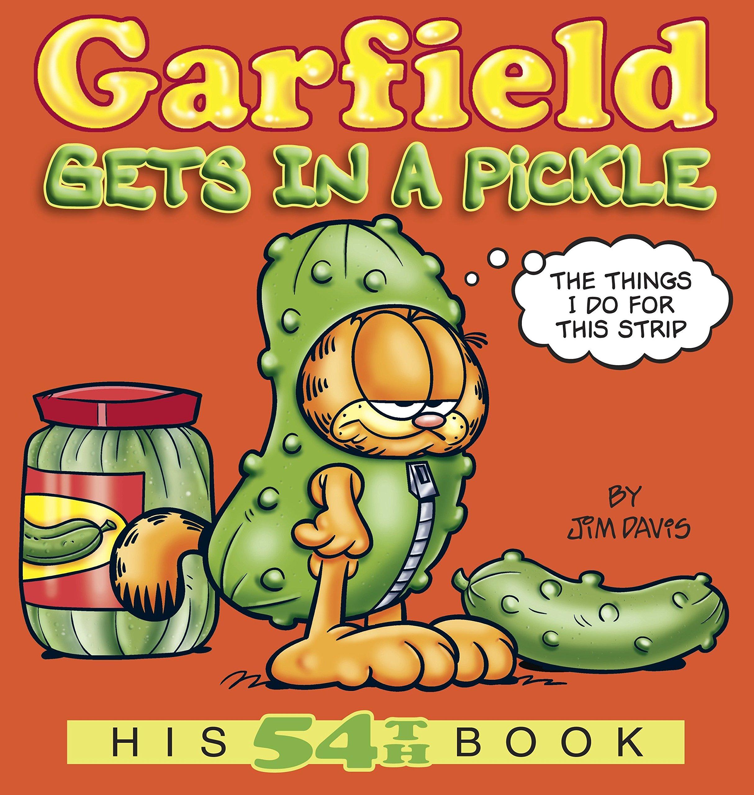 garfield gets in a pickle his 54th book jim davis 9780345525901