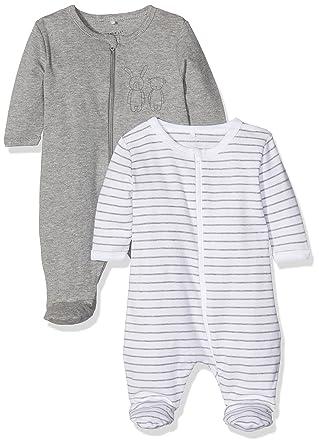 ca814eb0f Name It Baby Sleepsuit Pack of 2  Amazon.co.uk  Clothing