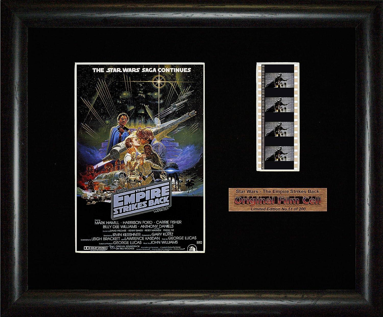 La guerra de las galaxias - El imperio contraataca - Póster enmarcado: Amazon.es: Hogar