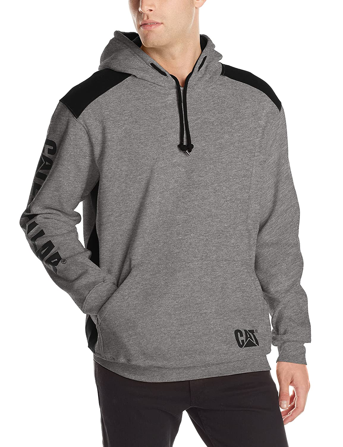 Caterpillar Men's Logo Panel Hooded Sweatshirt 1910802