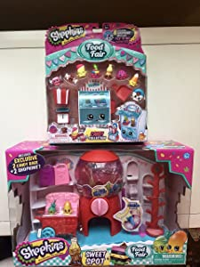 Shopkins 2016 Season 4 Food Fair Bundle- Sweet Spot Playset & Candy Collection