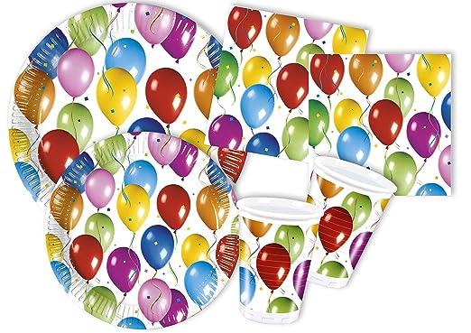 120 opinioni per Ciao Y4334- Kit Party Festa in Tavola Balloons Fiesta per 30 persone (130 pezzi: