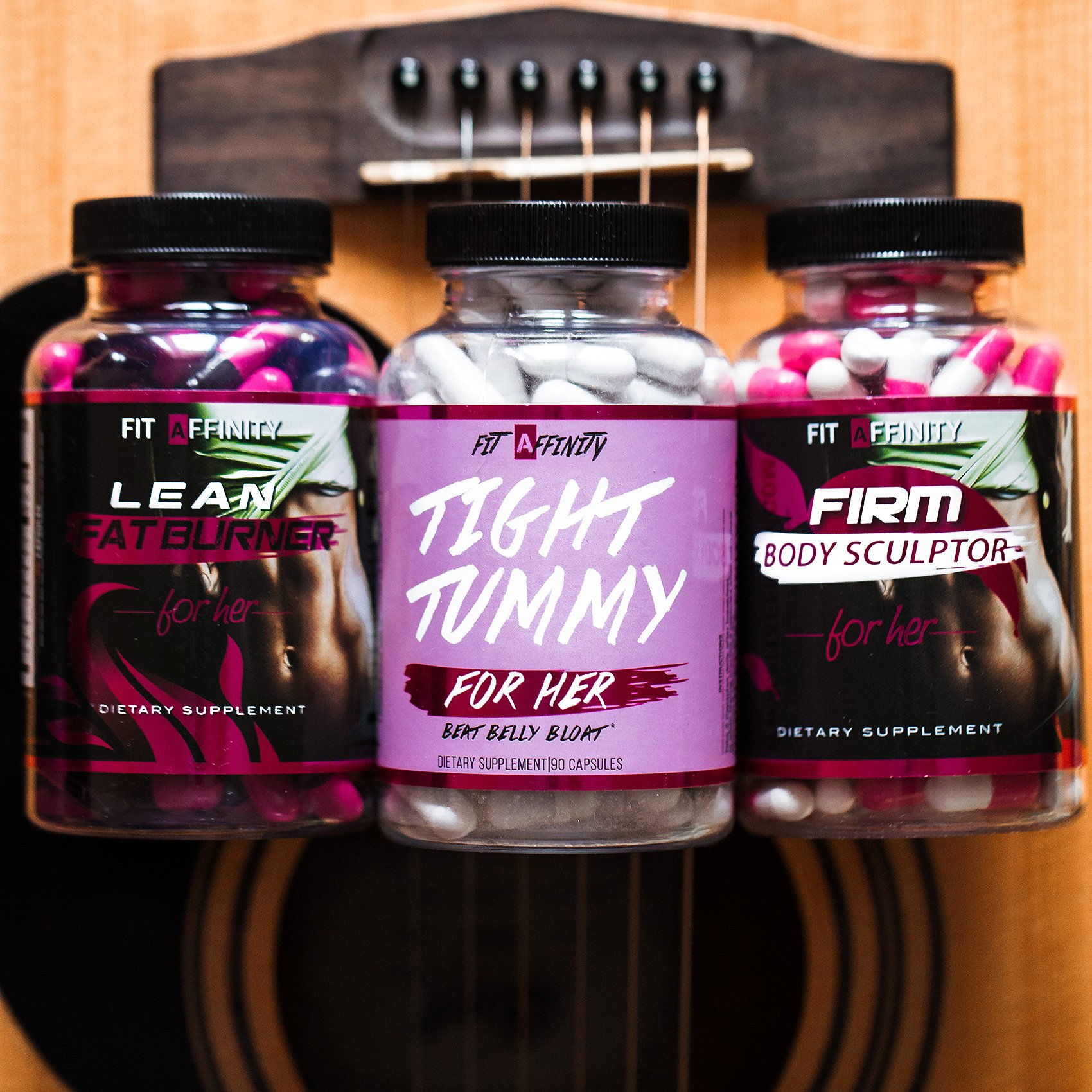 Fit Affinity - Weight Loss Bundle - Lean Fat Burner, Tight Tummy, Firm Body Sculptor by Fit Affinity (Image #9)