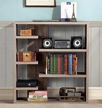 Charmant Homestar Furniture 6 Shelf Storage Bookcase In Reclaimed Wood: Amazon.ca:  Home U0026 Kitchen