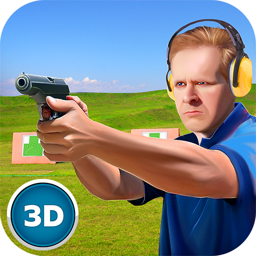 Pistol Target Aiming Bottle Skeet Shoot: Gunner Expertise Contest ()