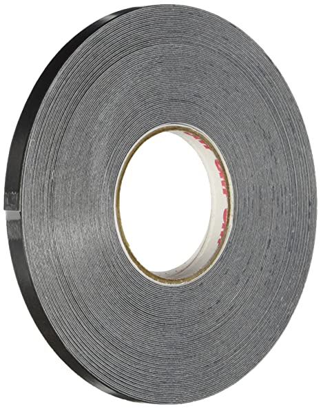 485407e4a461e 3M Scotchcal Striping Tape, 1/4-Inch by 50-Foot, Black (79902)