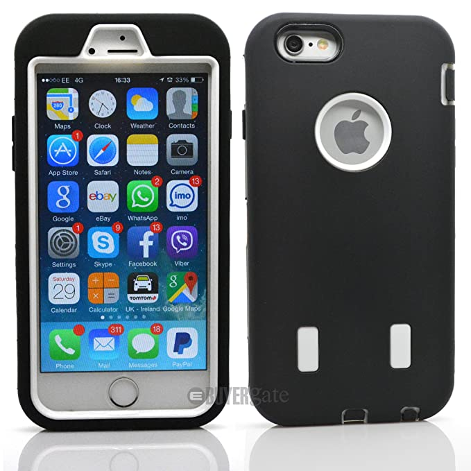 2 opinioni per New Heavy Duty Hybrid Rugge Builder Work Workman Armour Case per iPhone 6 / 6S