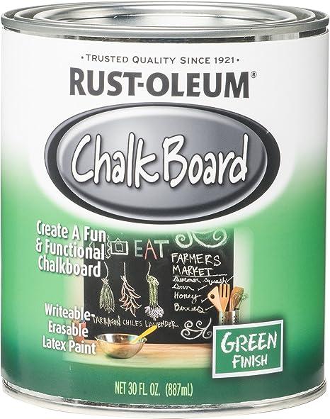 Rust Oleum 206438 Ncf Chalkboard Paint 30 Oz Green