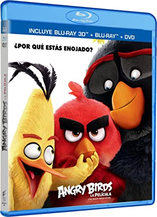 Angry Birds La Película 3D (ANGRY BIRDS MOVIE 3D) Blu-ray 3D +
