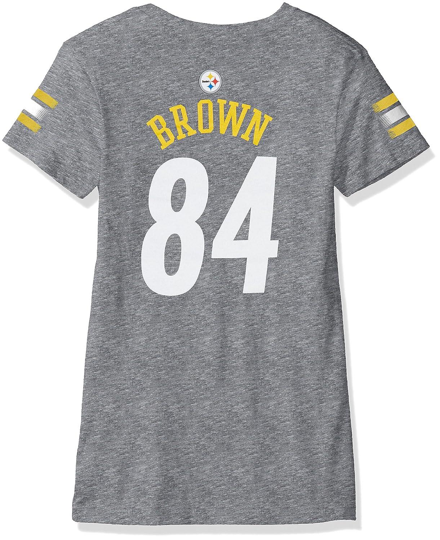 【オンラインショップ】 NFL Girls 7 – 16 Girls Antonio Brown Pittsburgh Pittsburgh B06VX7LQRR SteelersメインストライプVネックName & Number半袖Tシャツ、Large/14、ヘザーグレー B06VX7LQRR, 【2018最新作】:e2cf27be --- a0267596.xsph.ru