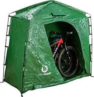 The YardStash IV Heavy Duty Space Saving Outdoor Storage Shed Tent  sc 1 st  Amazon.com & Amazon.com: Quictent Pop Up Automatic Rod Bracket Heavy Duty Bike ...