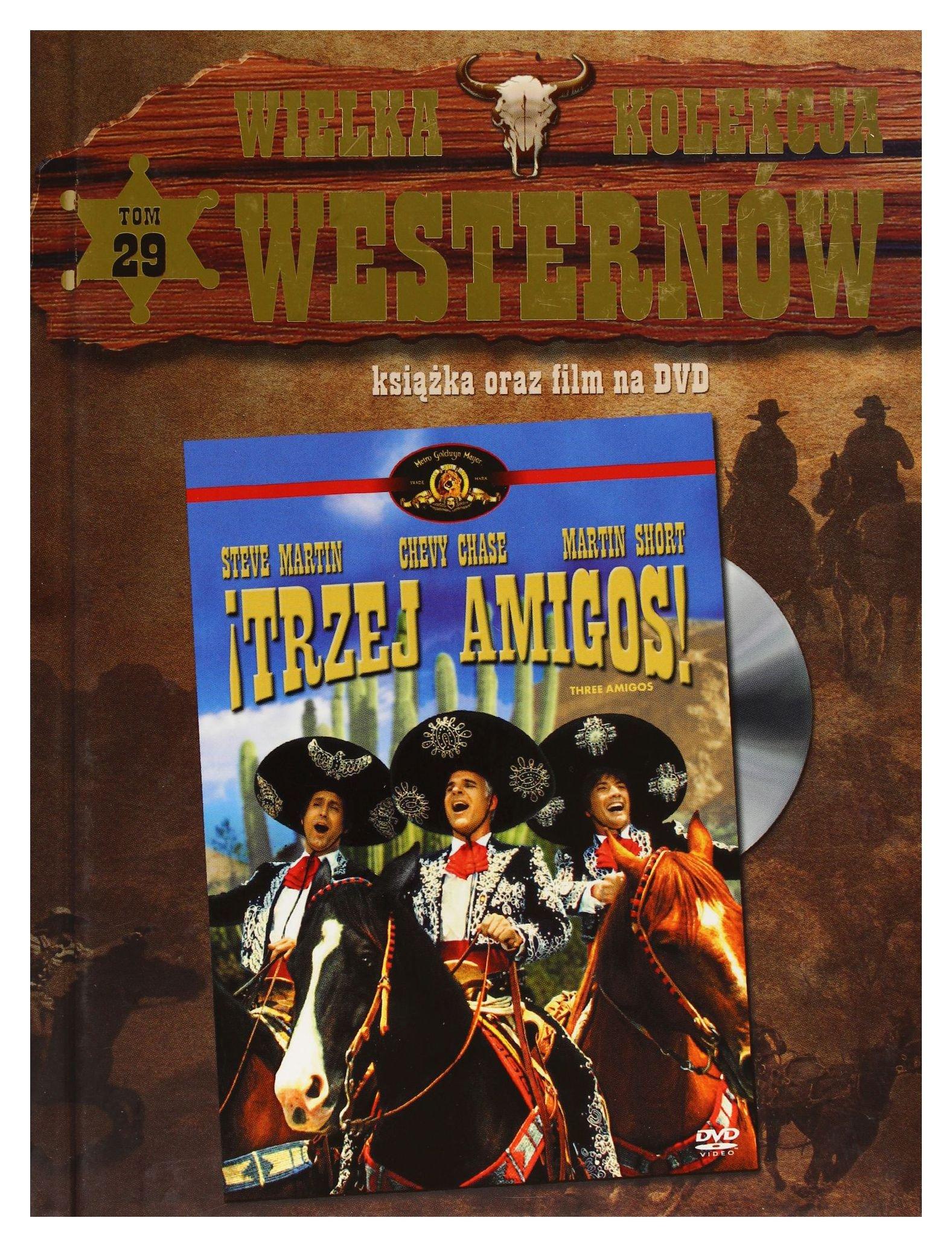 Three Amigos [DVD] (English audio. English subtitles) Chevy Chase