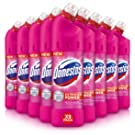 Domestos Extended Germ Kill Pink Power Bleach with CTAC 750 ml (Pack of 9)