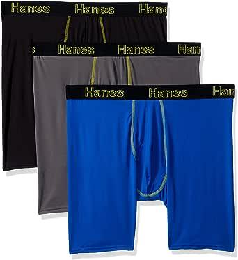 Hanes Men's 3-Pack Comfort Flex Fit Ultra Lightweight Mesh Boxer Brief Underpants