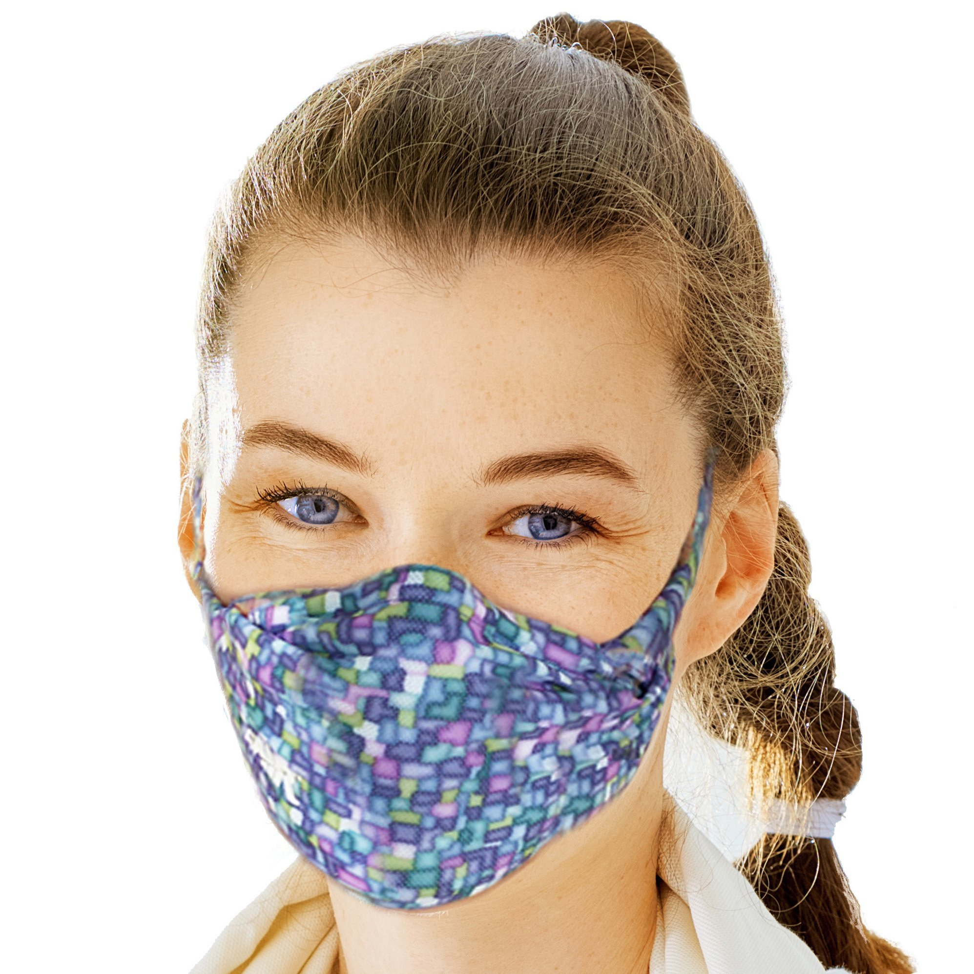 MyAir Comfort Mask, Starter Kit in Mosaic Tile - Made in USA. by MyAir
