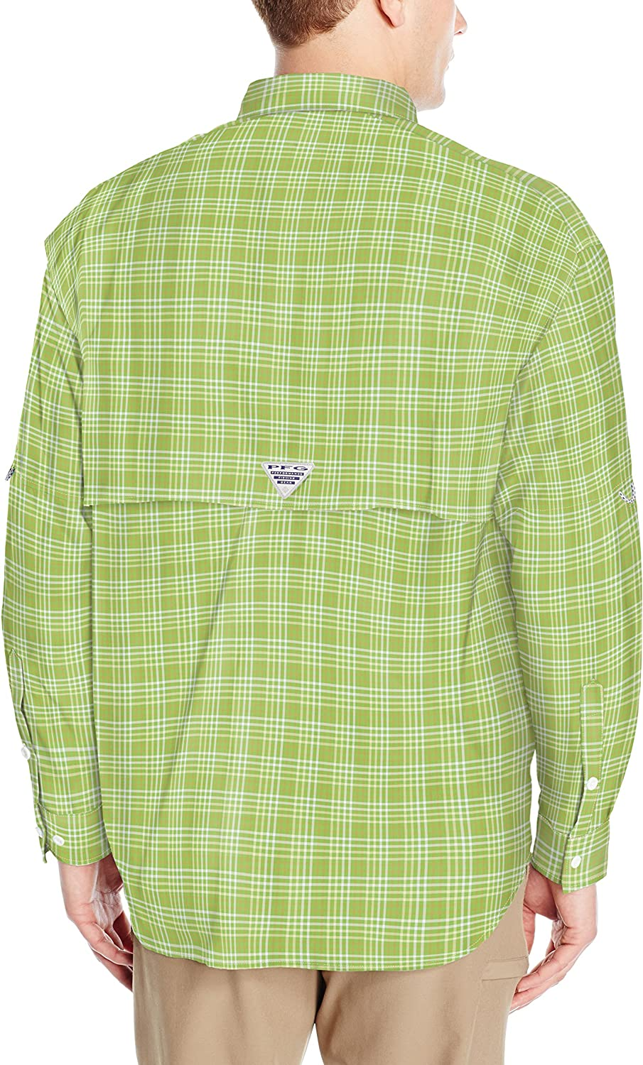Columbia Men's Super Bahama Long Sleeve Shirt Spring Multi Plaid