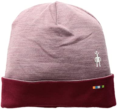 c50d5774e80 SmartWool Unisex Cuffed Beanie Nostalgia Rose Heather One Size at Amazon  Men s Clothing store