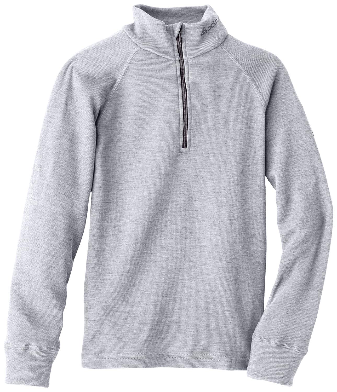 Odlo Herren-T-Shirt Warm, langärmelig, für Kinder, 1/2 zip