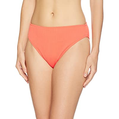 Brand - Mae Women's Swimwear Ribbed Bikini Bottom (for A-C cups): Clothing