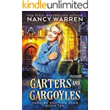 Garters and Gargoyles: A paranormal cozy mystery (Vampire Knitting Club Book 10)