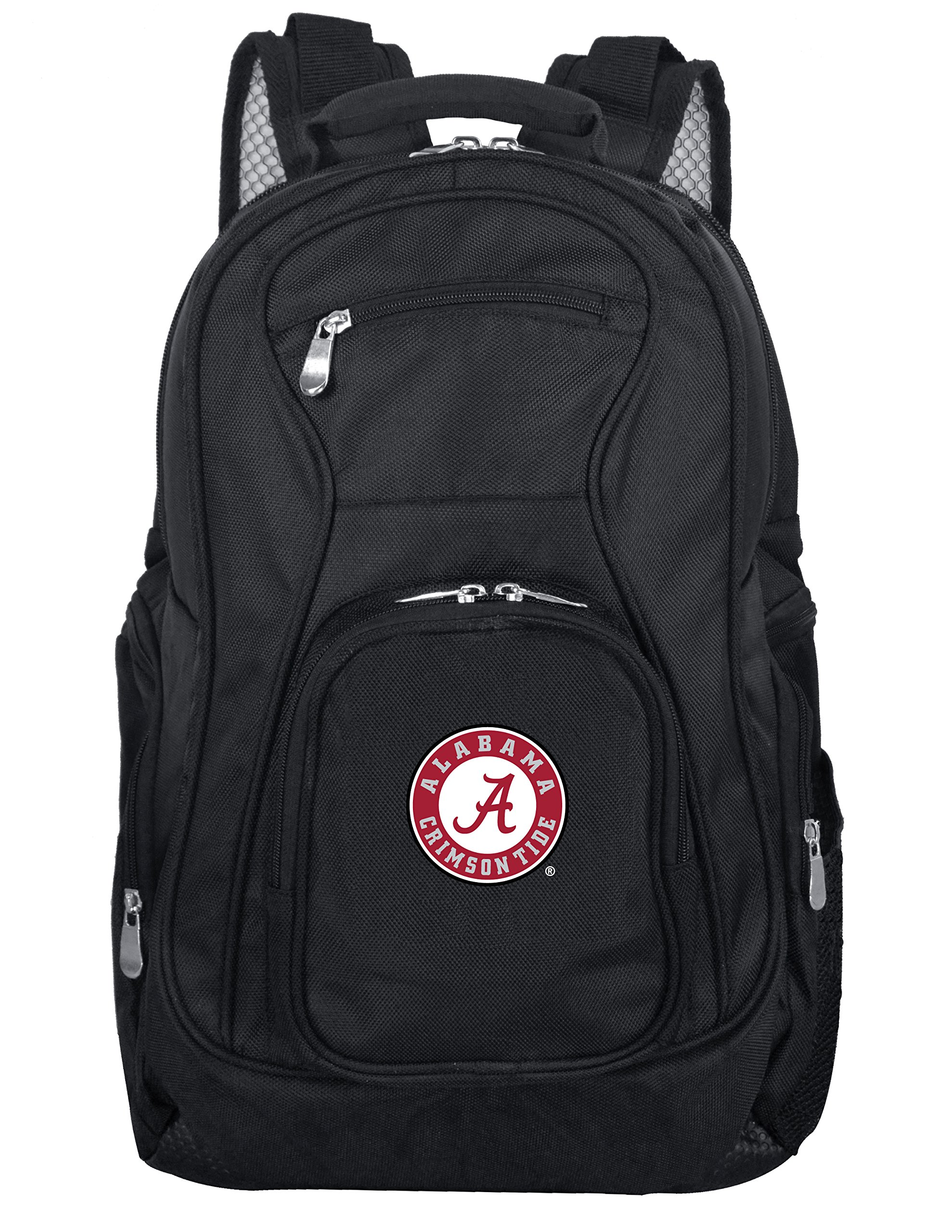 Denco NCAA Alabama Crimson Tide Voyager Laptop Backpack, 19-inches, Black