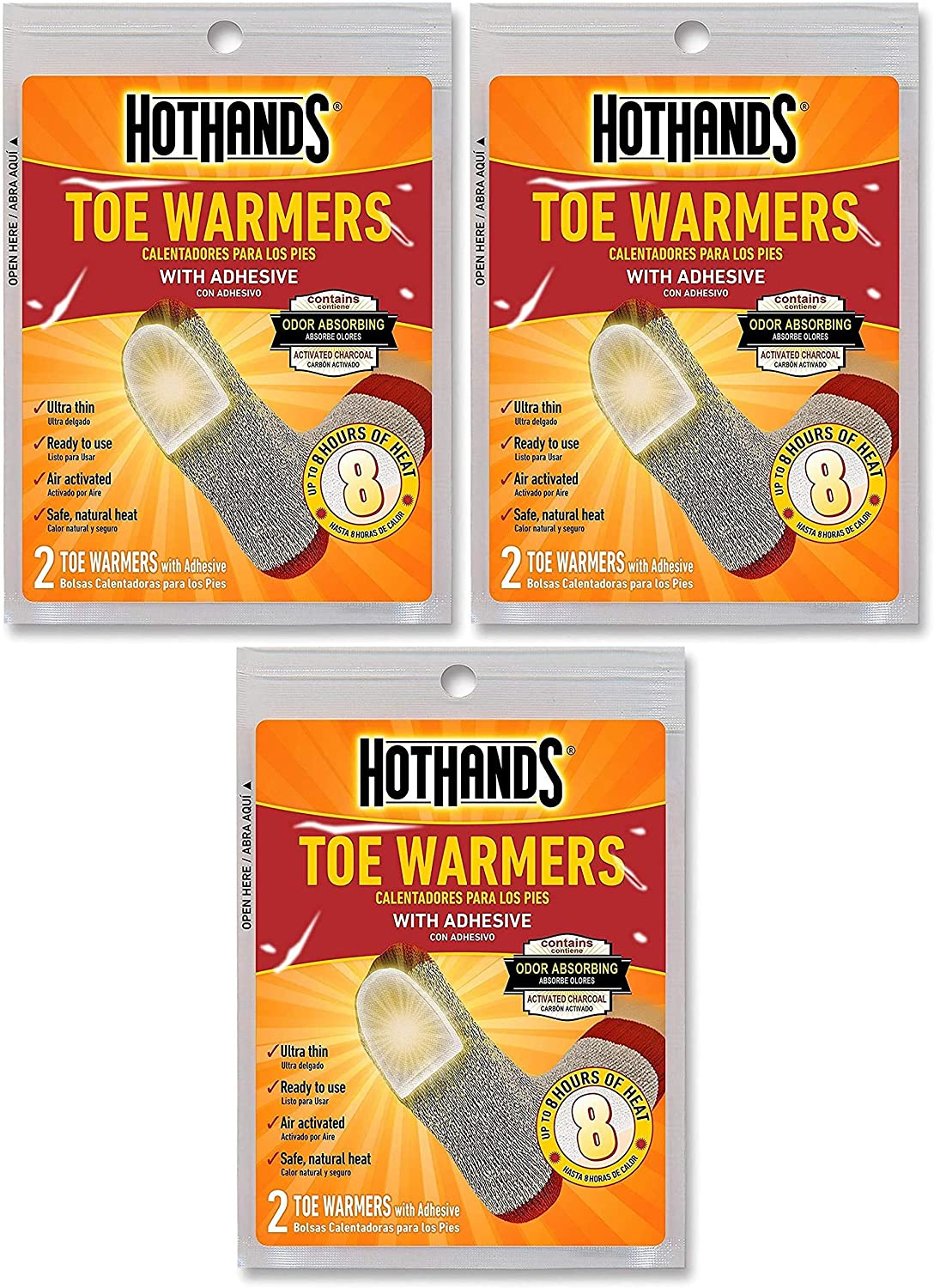HotHands Toe Warmers (5 Pair)