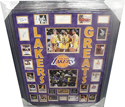 9ffe58df6 Chick Hearn Kobe Bryant Wilt Chamberlain + Many More Signed Auto ...