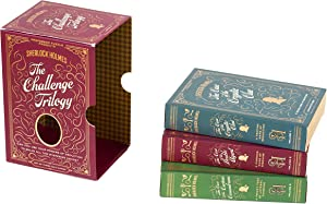 Professor Puzzle Sherlock Holmes - The Challenge Trilogy - Set of Three Quiz Games / Brain teasers