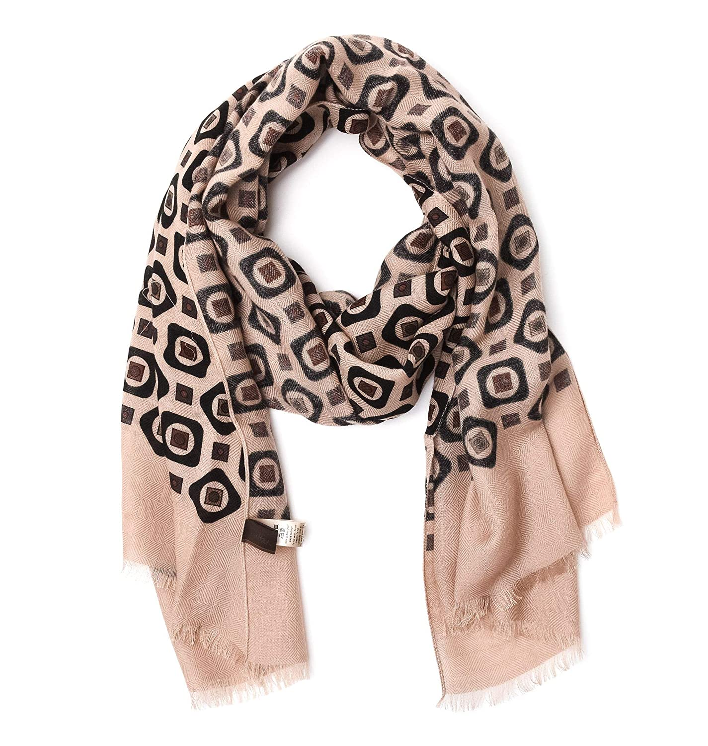 Altea Women's 17602534 Beige Wool Scarf
