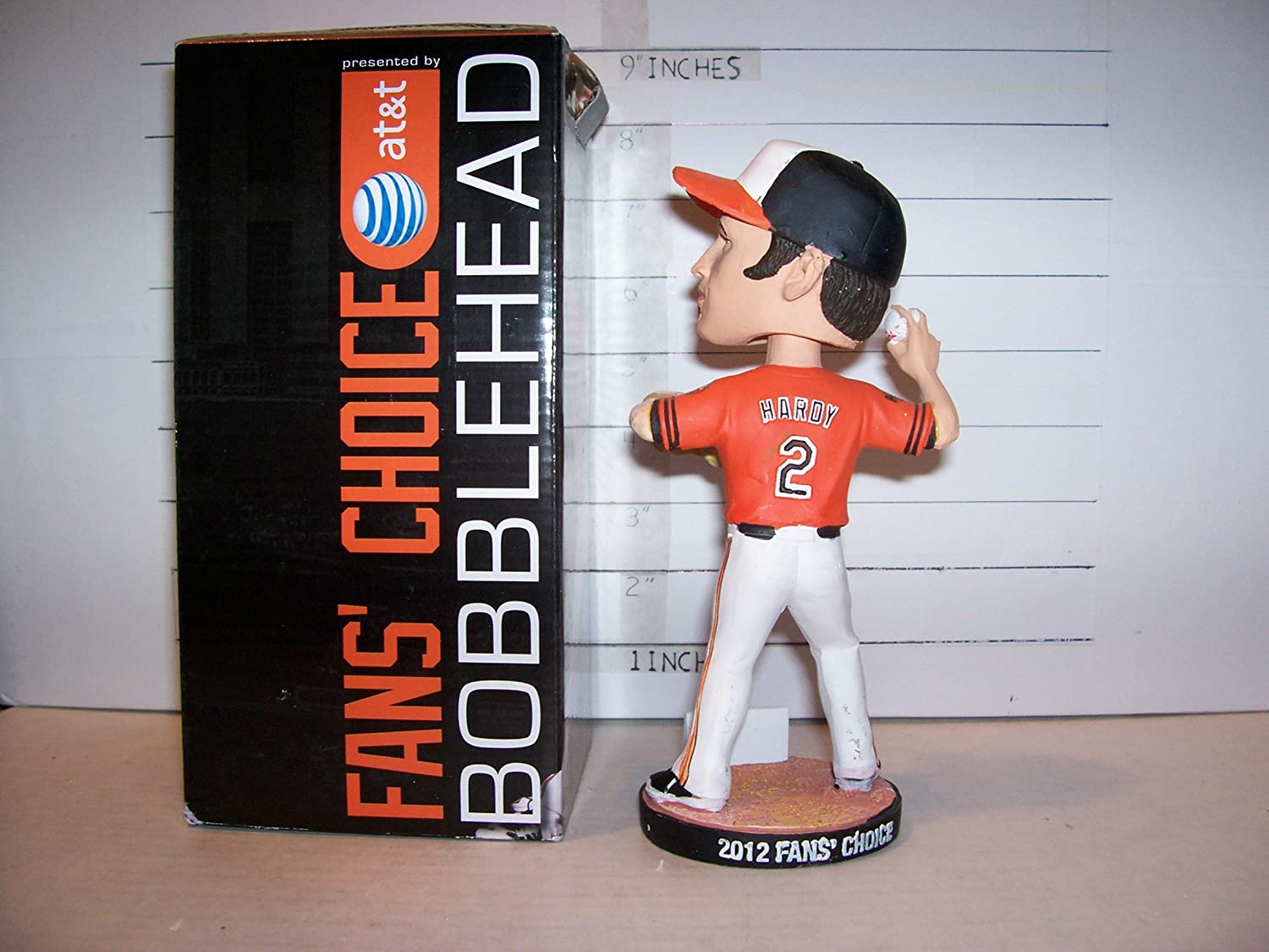 3db92880773 ... 2012 J.J. HARDY BALTIMORE ORIOLES FANS CHOICE BOBBLEHEAD FIGURINE SGA  NEW at Amazons Sports Collectibles Store ...