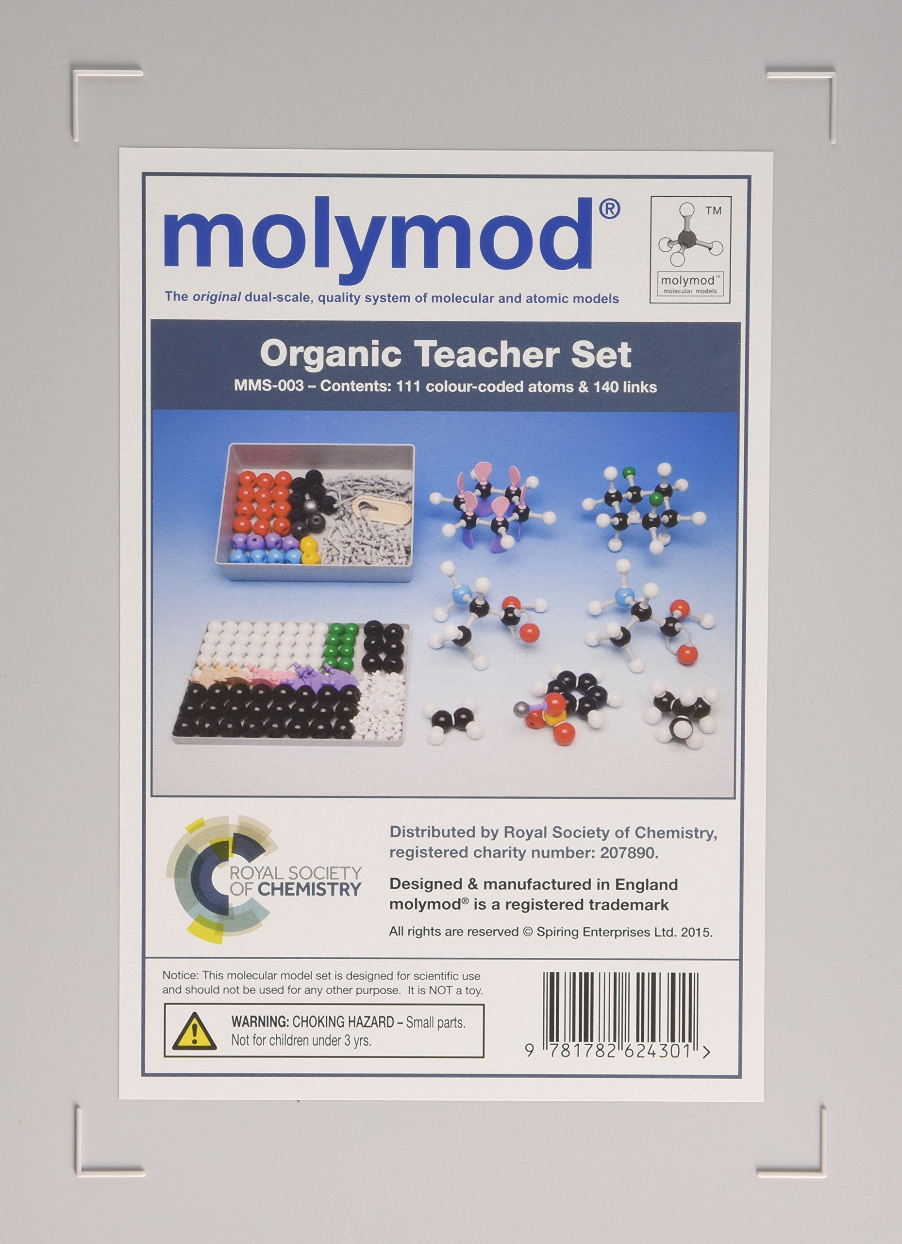 Molymod MMS-003: Organic Teacher 111 atom set