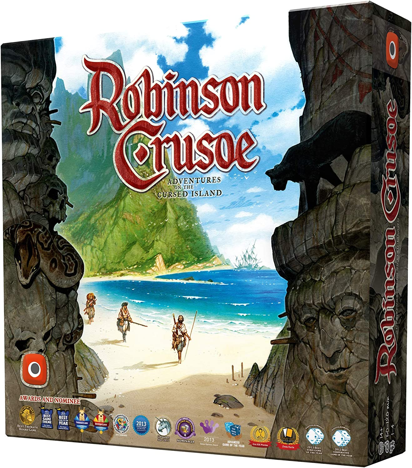 Wydawnictwo Portal POP00361 Robinson Crusoe: Adventures on The Cursed Island, 0064PG: Amazon.es: Juguetes y juegos