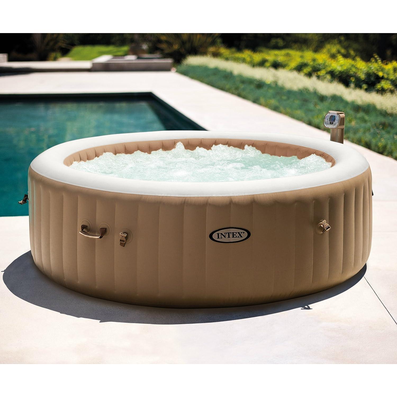 e612bbb27e3e86 Intex 85in PureSpa Portable Bubble Massage Spa Set  Amazon.ca  Patio, Lawn    Garden