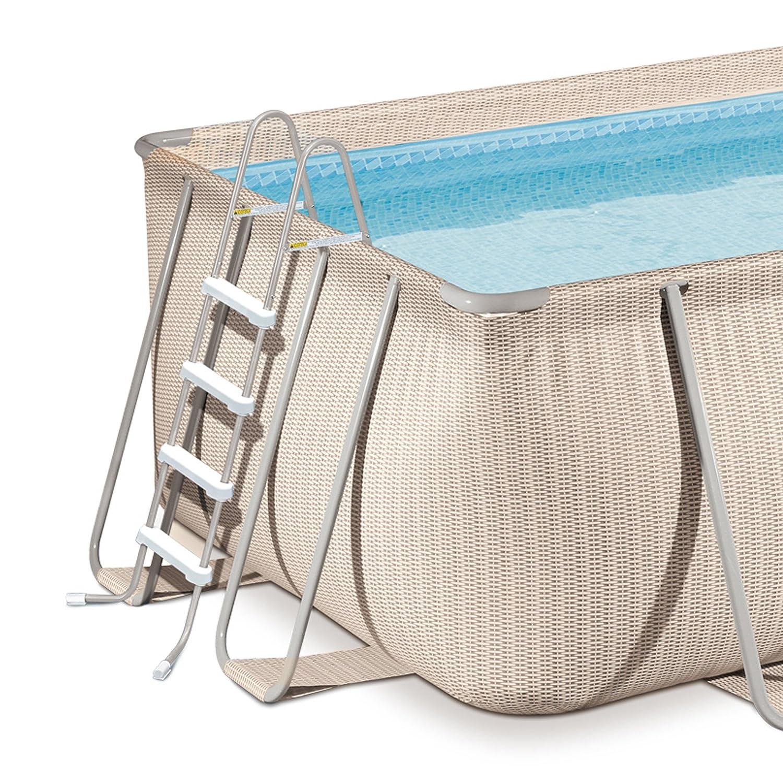 Amazon.com: Luz Mimbre de la piscina del paquete 9