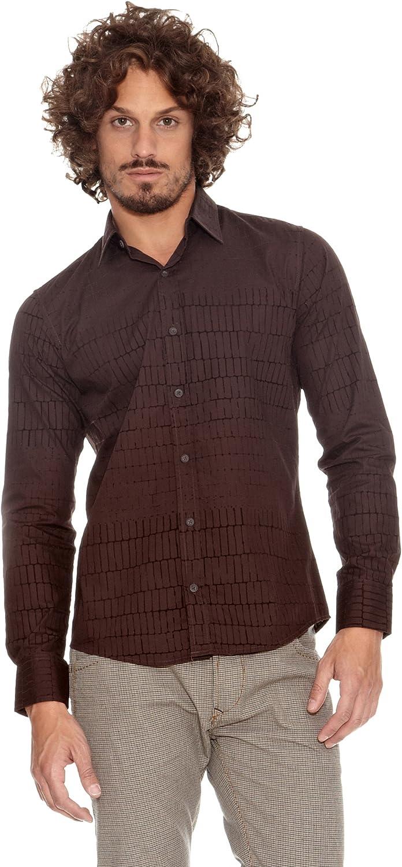 Desigual Camisa Jordan Chocolate XL: Amazon.es: Ropa y accesorios