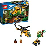 Lego City - L'hélicoptère Cargo de la Jungle - 60158 - Jeu de Construction