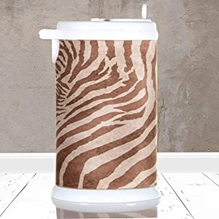product image for Glenna Jean Faux Zebra Ubbi Cover, Brown