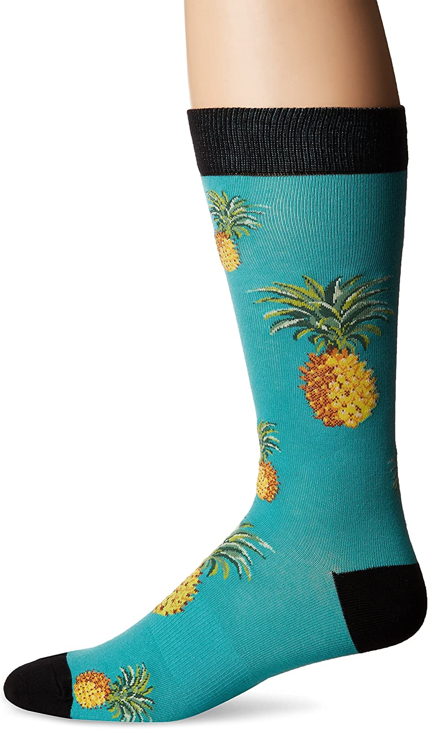 K. Bell Socks mens The Great Outdoors Novelty Crew Socks