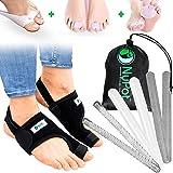 NYPOT Premium Bunion Corrector - Bunion Relief Big Toe Support, Orthopedic Bunion Splint, Toe Straightener for Women and…