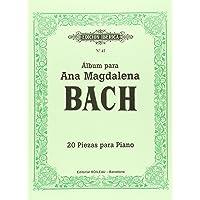 Álbum para Ana Magdalena Bach: 20 piezas