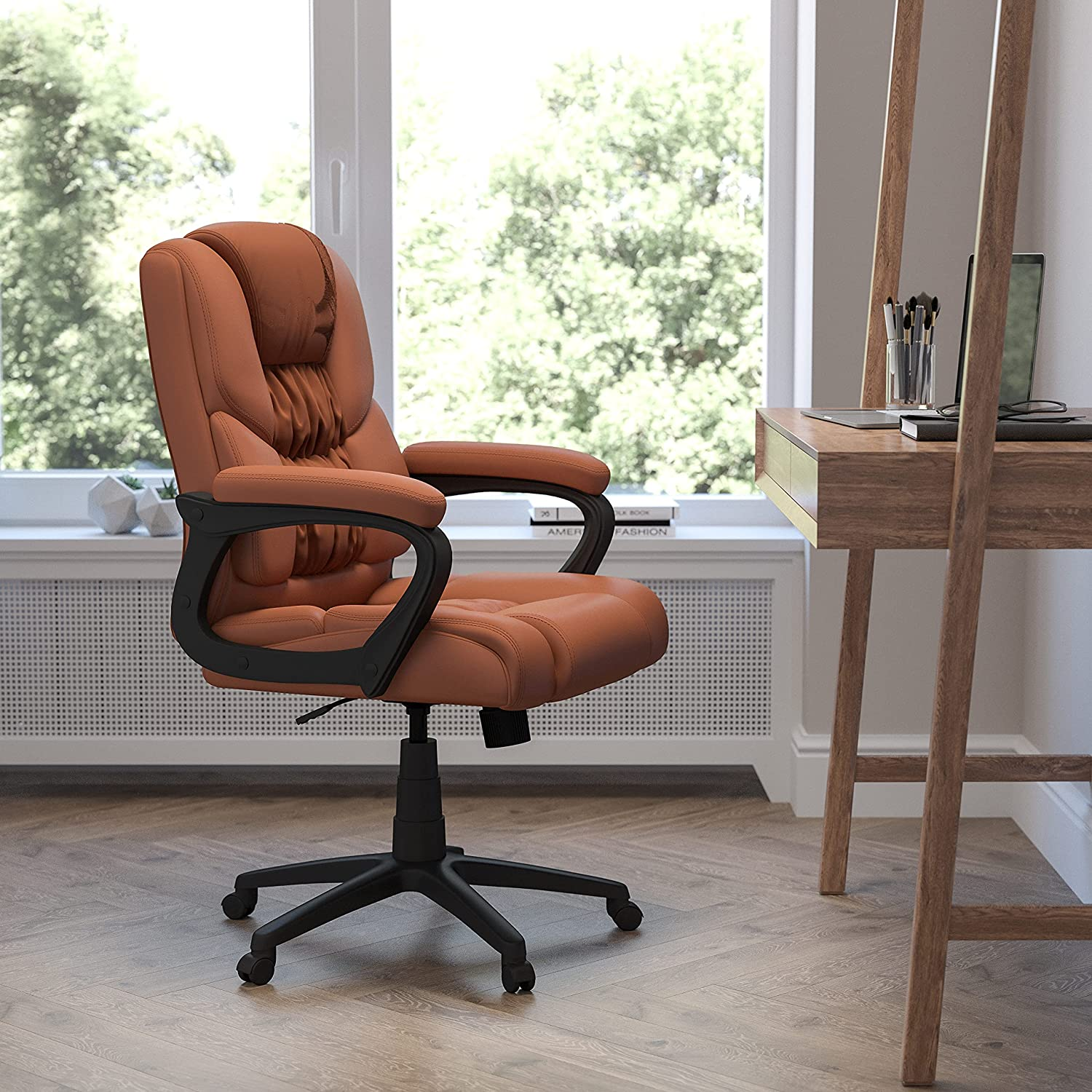 Flash Furniture Big & Tall Office Chairs, Brown