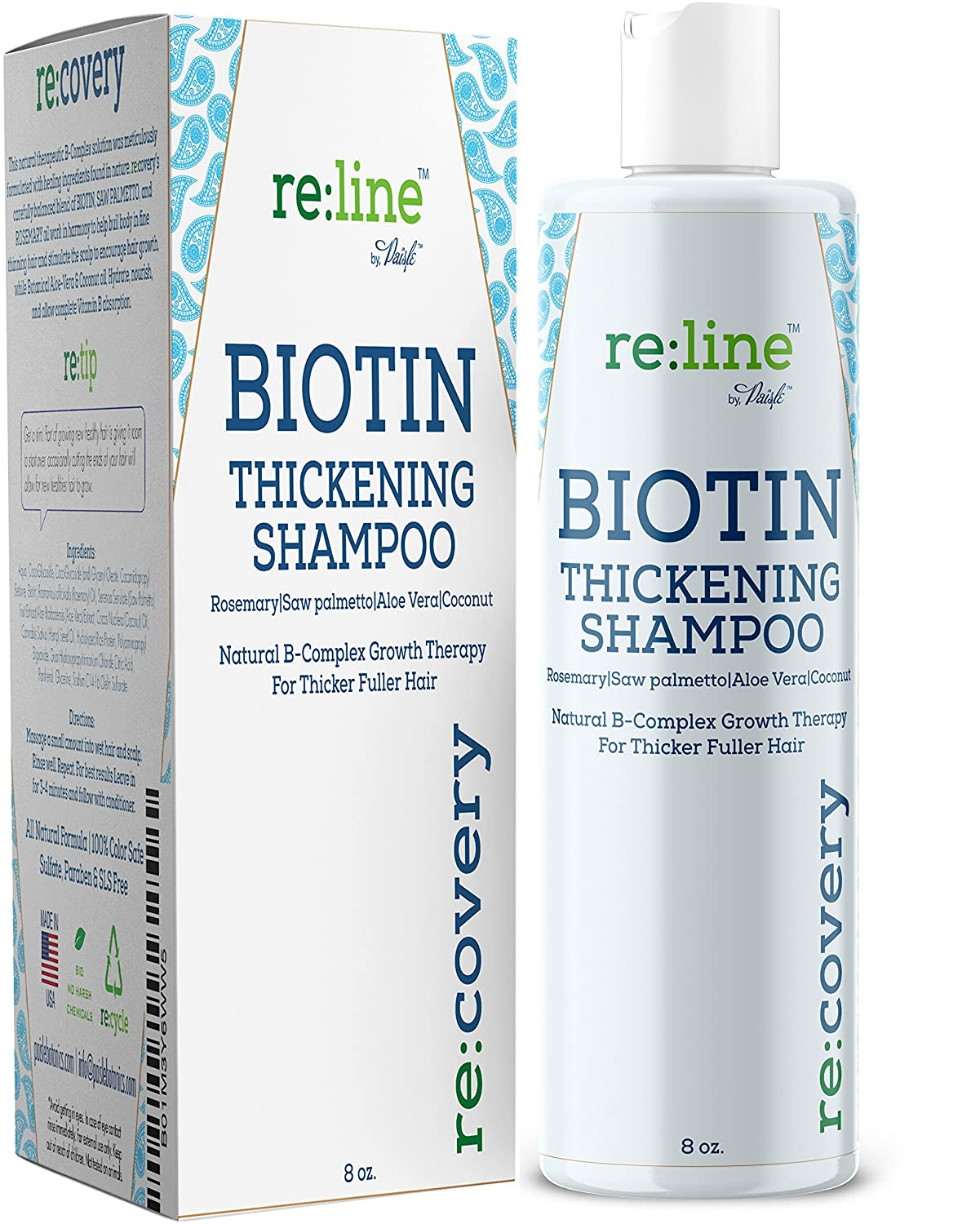 Biotin Shampoo for Hair Growth - Thickening Shampoo for Hair Loss
