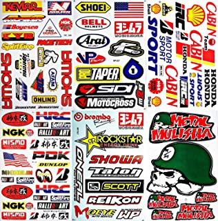 Amazoncom X Custom Decal Stickers For Dirt Bike Motorcycle - Custom decals and stickers