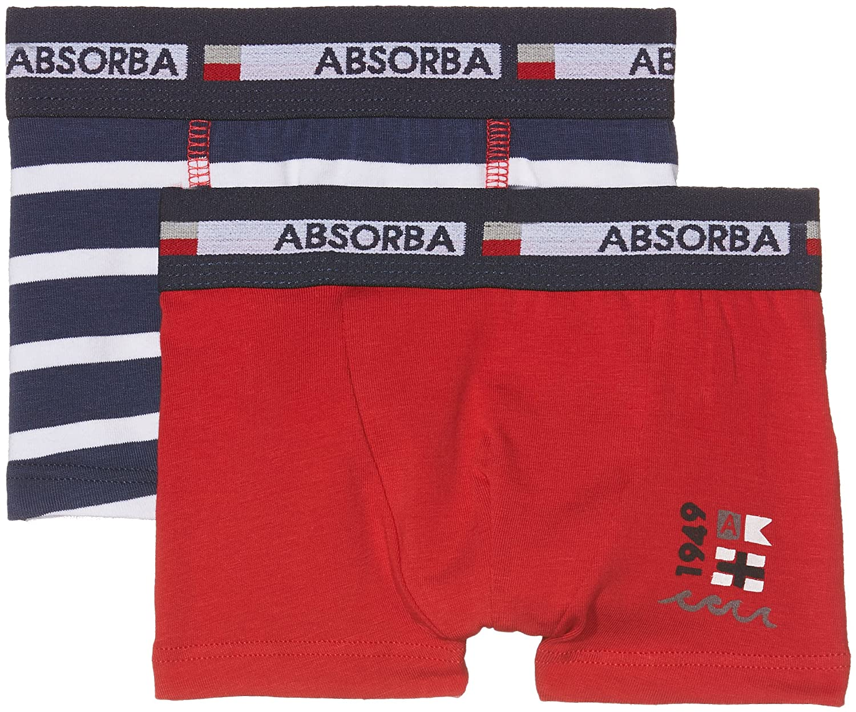 Absorba Baby-Jungen Taillenslip Navy, 2er Pack Absorba Underwear 6L67066-RA