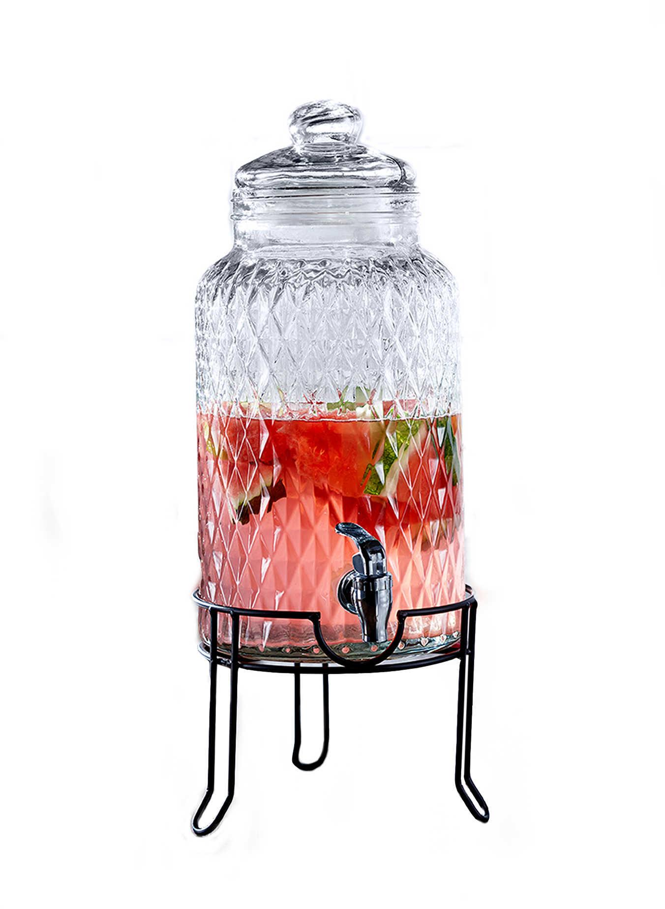 Glass Beverage Dispenser - BedBathandBeyond.com