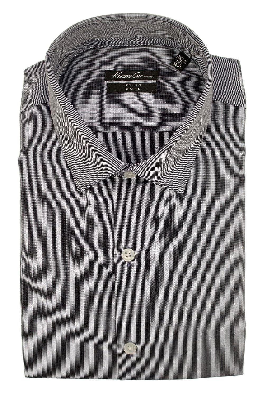New York Mens Slim Fit Long Sleeve Dress Shirt