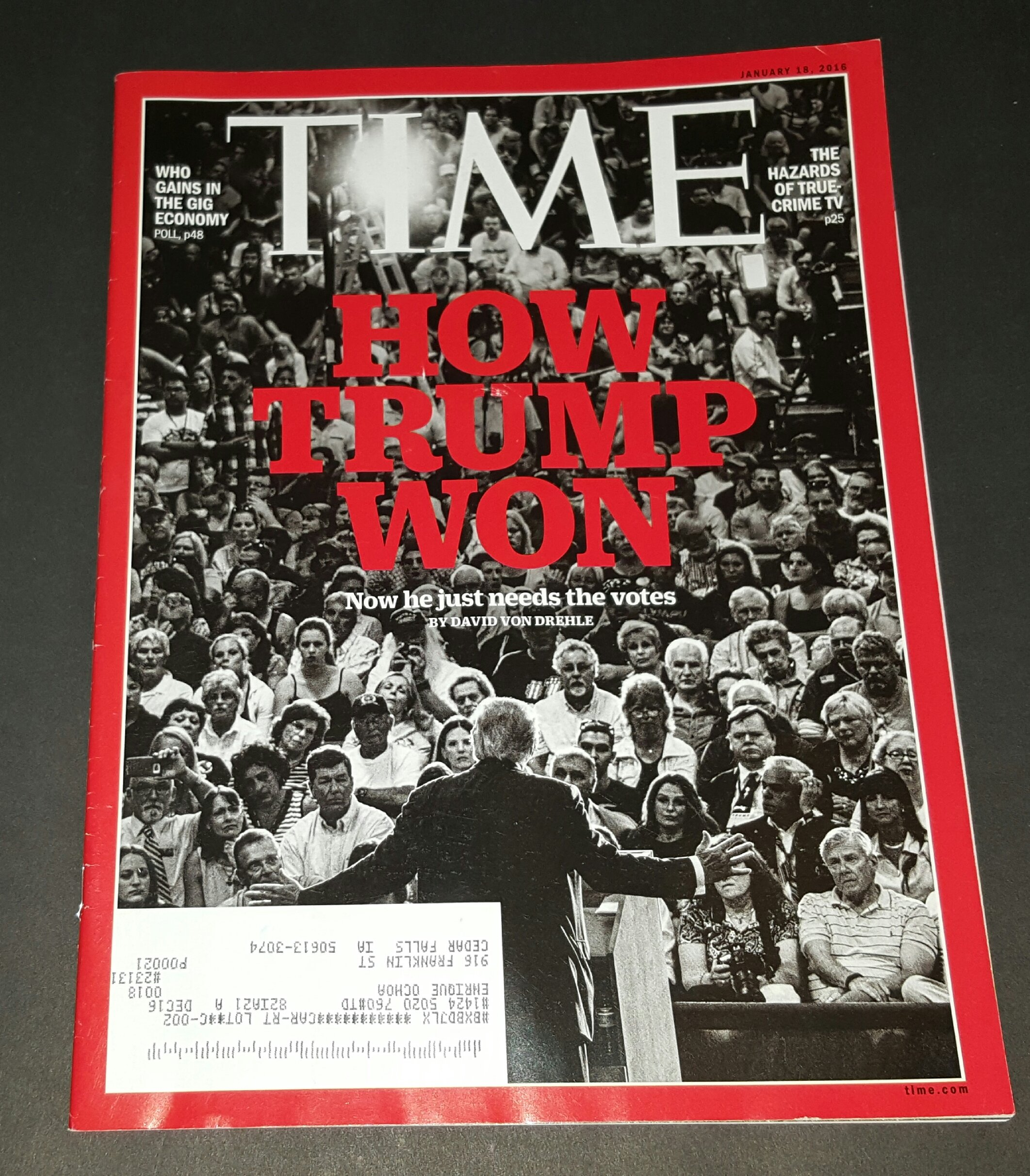 Download TIME Magazine January 18, 2016 - How Trump Won, Gains In The Gig Economy PDF