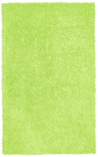 Green 4×6 Shagadelic Chenille Twist Rug
